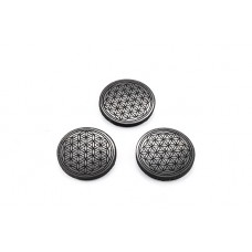 3 Circular shungite plates
