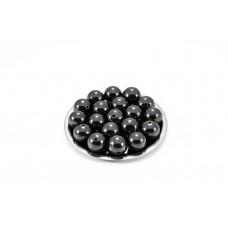 Beads Shungite polished 12 mm of With Hole 10 pcs