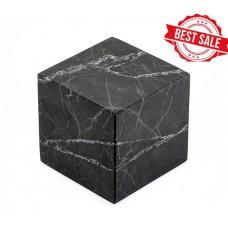 Cube 50x50 mm unpolished shungite