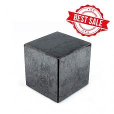 Cube 90x90 mm polished shungite