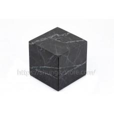 Cube 60x60 mm unpolished shungite