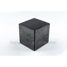 Cube 40x40 mm polished shungite