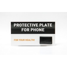 Shungite plate for cell phone, polished  25x15x2mm