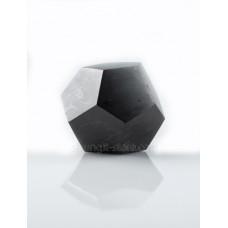40 mm Shungite polished dodecahedron