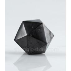 40 mm Shungite polished icosahedron
