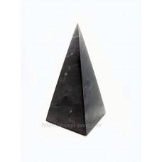 High shungite pyramid polished 30x30x60mm
