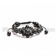 Shungite Oriental Flower Bracelet