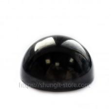 Semisphere polished 40mm shungite