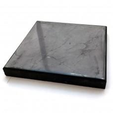 Shungite Tile polished 20x20x2 cm