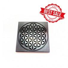 Shungite Tile polished 10x10x1cm