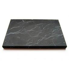 Shungite Tile unpolished 10x10x1 cm