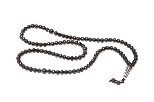 Shungite rosary 3603. 108 beads
