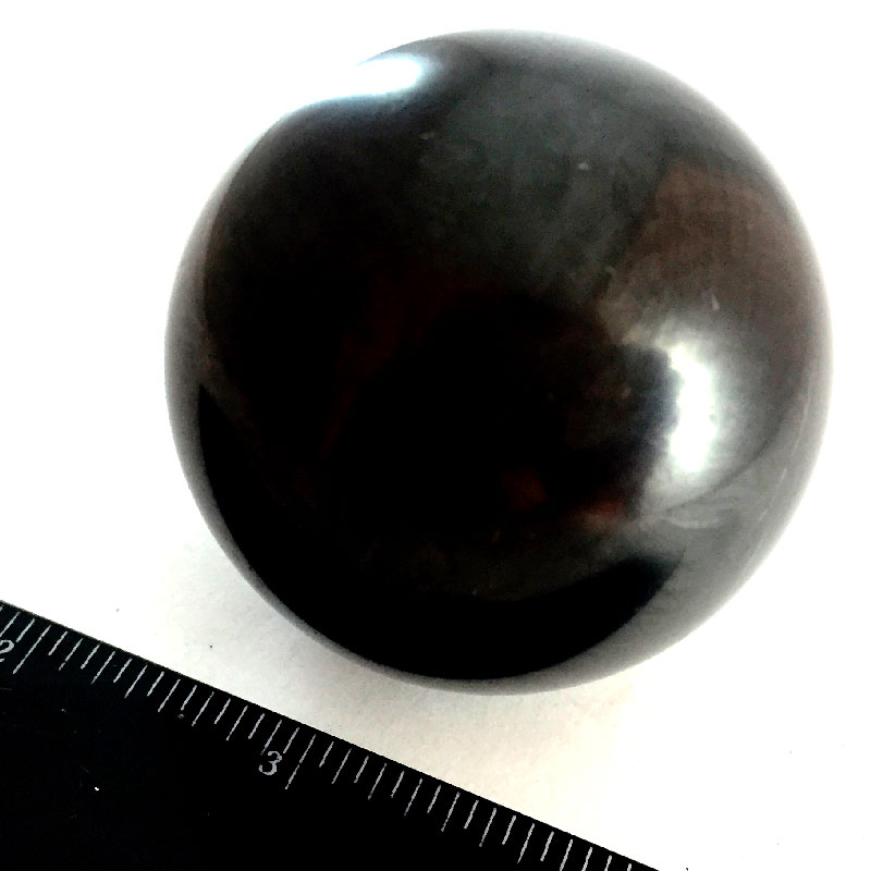 Sphere of shungite polished 50mm 02